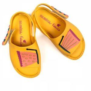 Mini Melissa x Fabula Butterfly Sandals